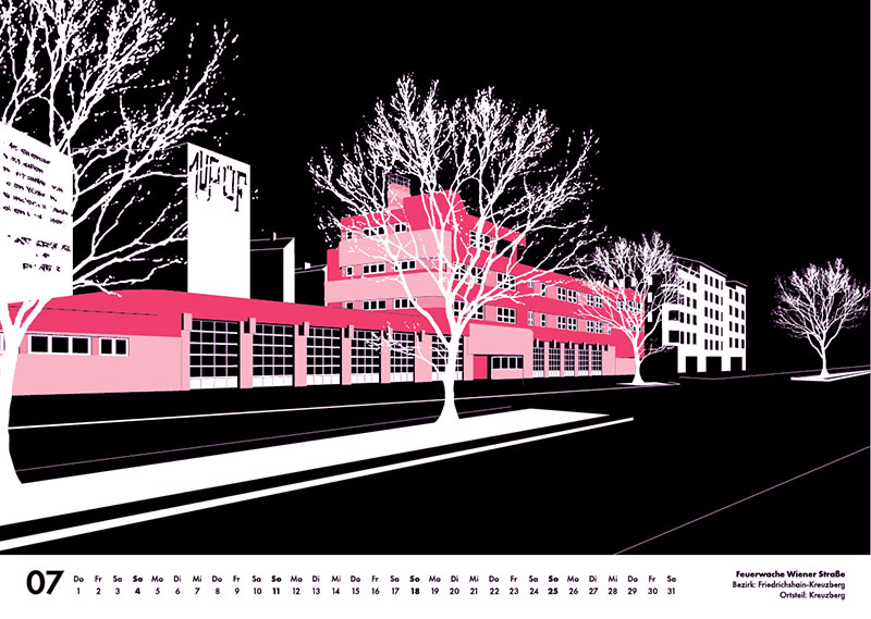 Wiener Strasse Illustration