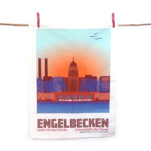 Berlin Geschirrtuch Engelbecken