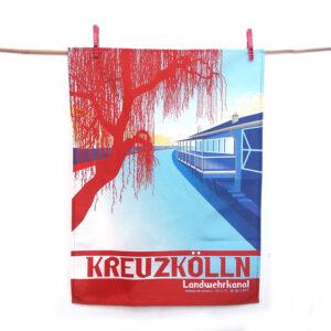 Berlin Geschirrtuch Kreuzkölln
