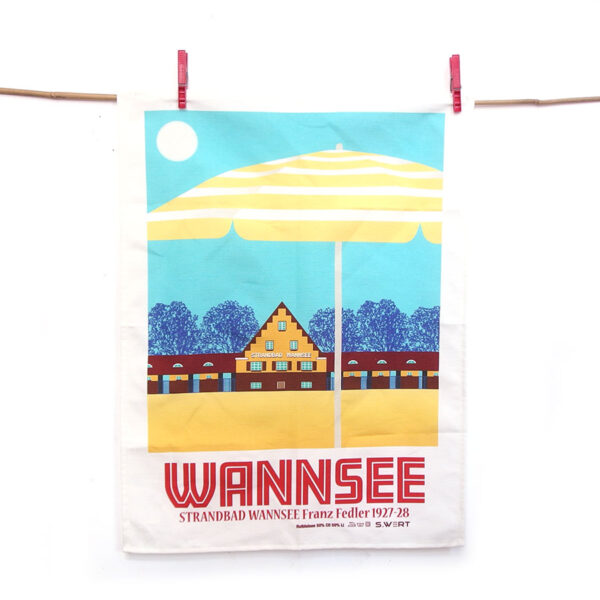 Berlin Geschirrtuch Wannsee