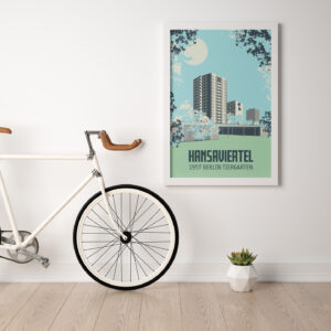Poster Hansaviertel Berlin