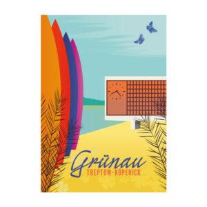 Grünau Köpenick Postkarte