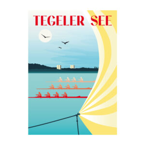 Tegeler See Ansichtskarte