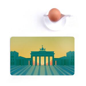 Frühstücksbrettchen Brandenburger Tor