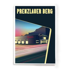 Berlin Prenzlauer Berg Poster