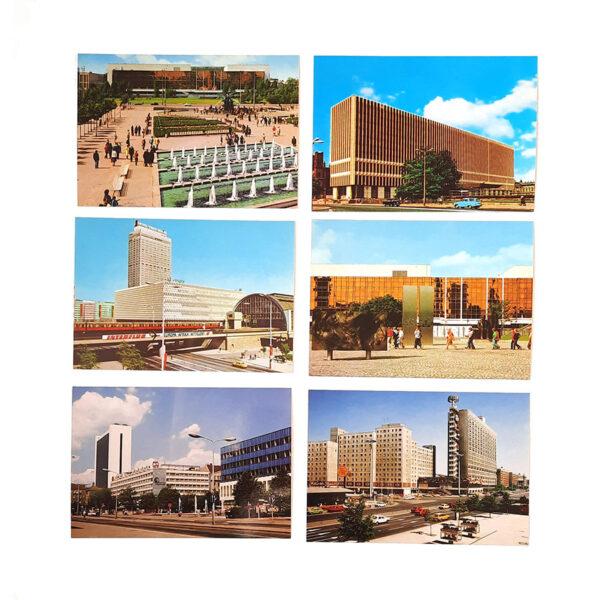 Postkartenset Ostmodern
