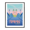Travel Poster Freiburg