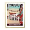 Basel Poster Klosterberg mit Atlantis
